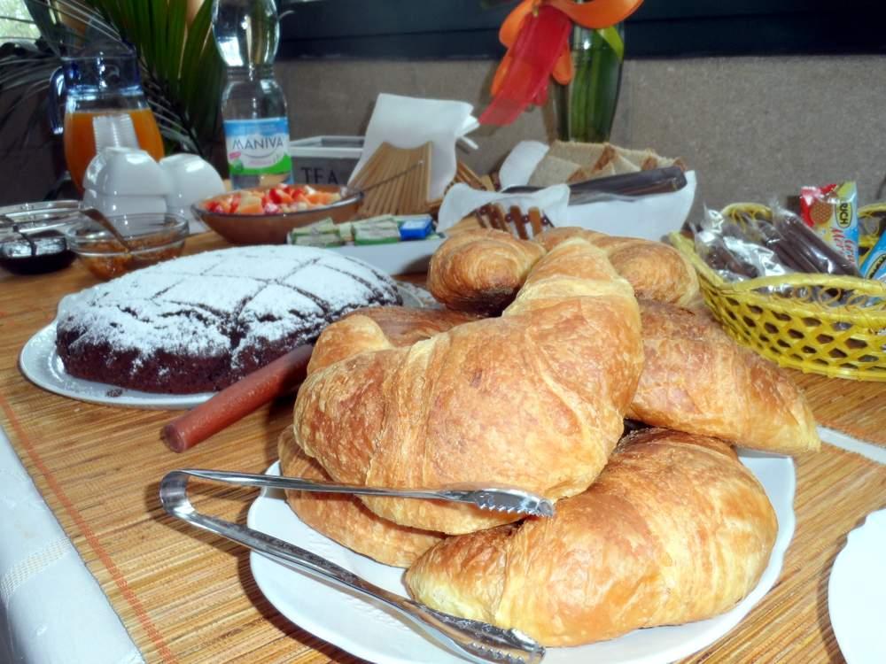La colazione del bed and breakfast gallipoli